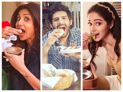 Pics that prove celebs are complete foodies!