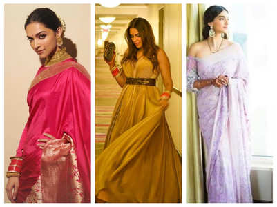 Actresses who sported wedding accessories