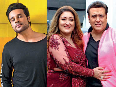 Krushna was missing as Govinda-Sunita came