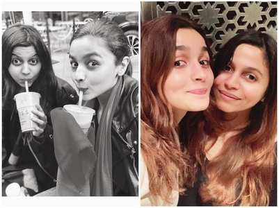 #Sistergoals: Cute pictures of Alia - Shaheen!