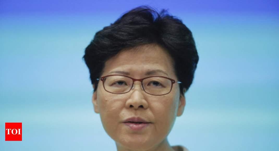 Hammer attack, thwarted speech stir more chaos in Hong Kong