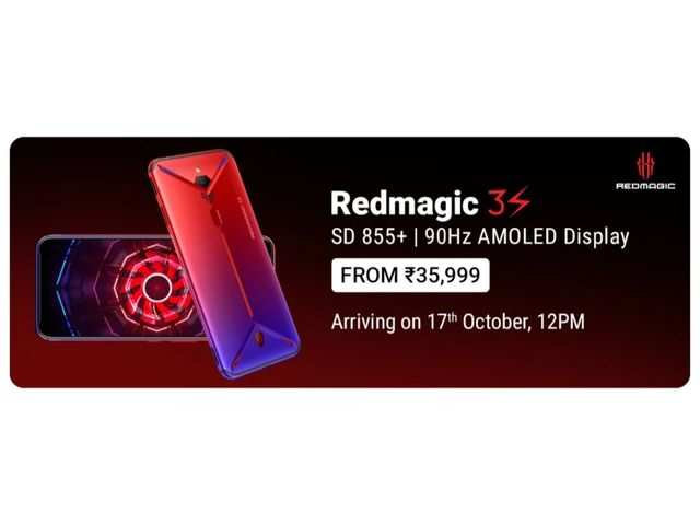 Nubia Red Magic 3S to be launched at a starting price of Rs 35,999, reveals Flipkart ahead of launch