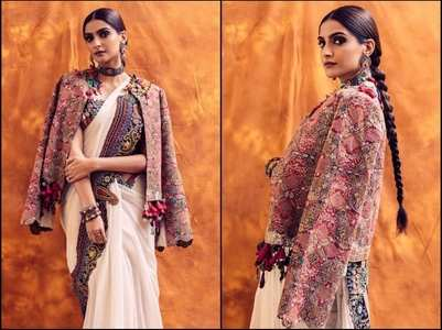 Sonam looks festive ready in THIS saree