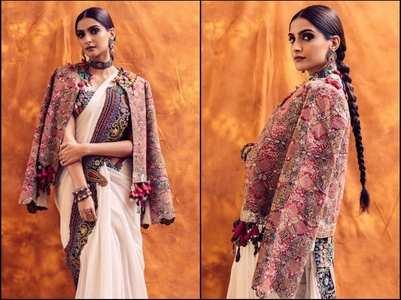 Sonam looks festive ready in THIS saree