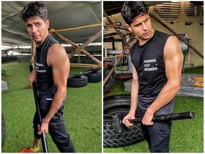 Sidharth's gym pics are sure to motivate you