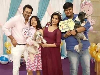Fun pics from Taarak fame Priya's baby shower