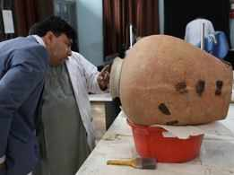 Afghan museum restores Buddhist history, one broken piece at a time