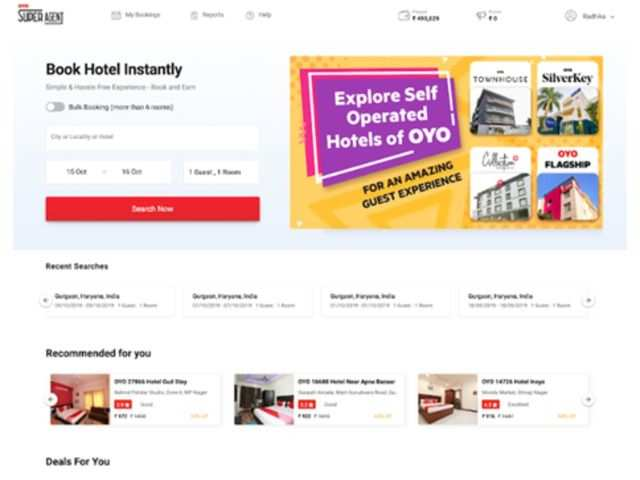 Oyo launches online portal for travel agents