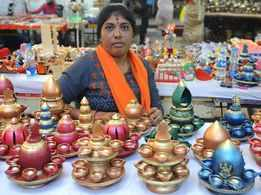 Light up your house with innovative lamps, unique diyas this Deepavali