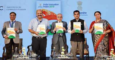Image result for Karnataka ranked as Most Innovative state in India