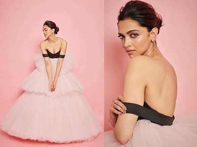 Photos: Deepika looks like a prom princess