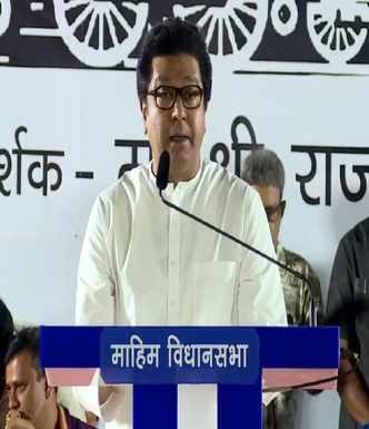 Metro will finish Marathi manus: Raj Thackeray
