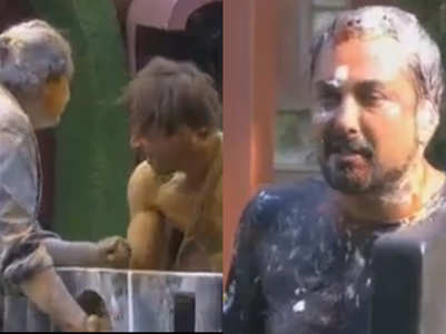 Housemates throw chilli powder on Asim