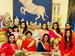 Celebs soak in festive fervour for Karwa Chauth