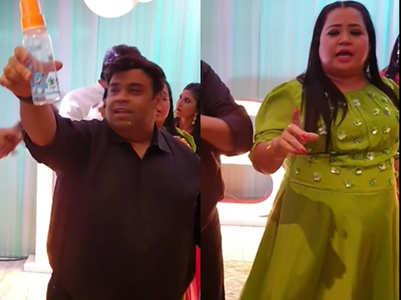 Fun tasks at Kapil-Ginni' baby shower