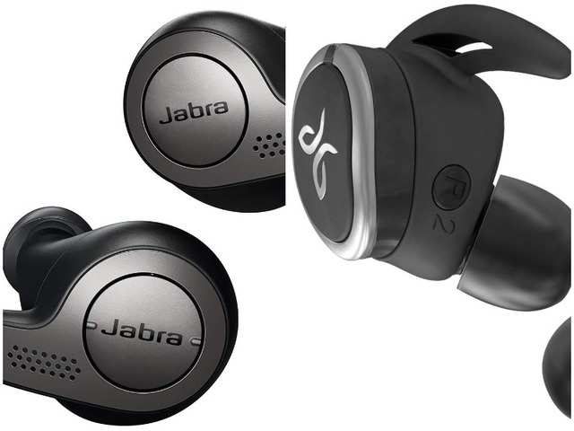 Jabra Elite 65t and Jaybird Run wireless earbuds available on discount