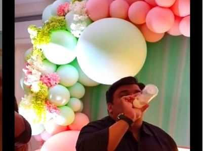 Kapil Sharma and Ginni Chathrath had this amazing baby shower theme party idea