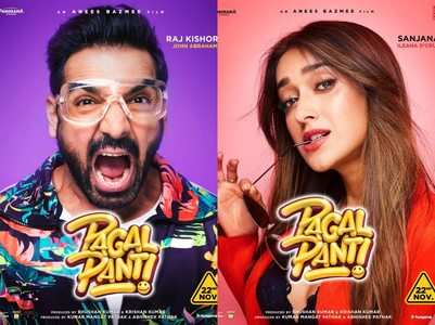 Character posters of team 'Pagalpanti'