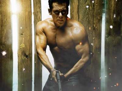 Pics: Salman's bare-bodied looks from 'Radhe'