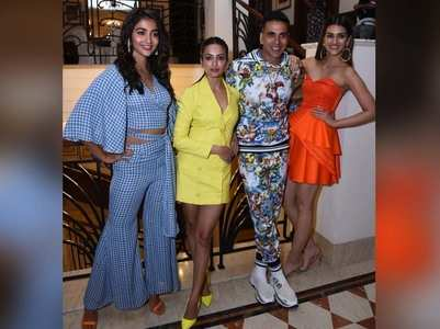 'Housefull 4' team promotes the film in Delhi
