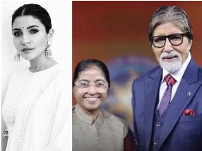 KBC 11: Anushka lauds Sunitha's work