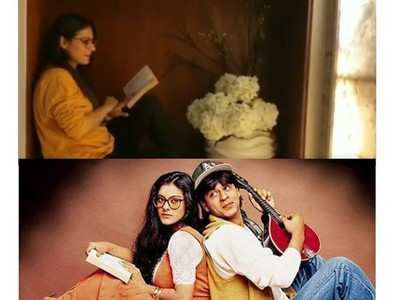 Kajol recreates Simran from DDLJ