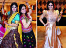 Ladies have a ball at this colourful dandiya night
