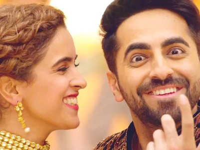 Watch this hilarious video of Sanya-Ayushmann