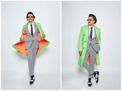 Ranveer opts for a NEON this time