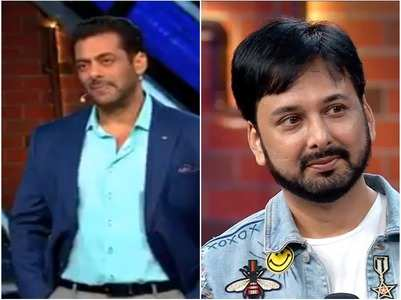 Salman reprimands Dey for cheap words