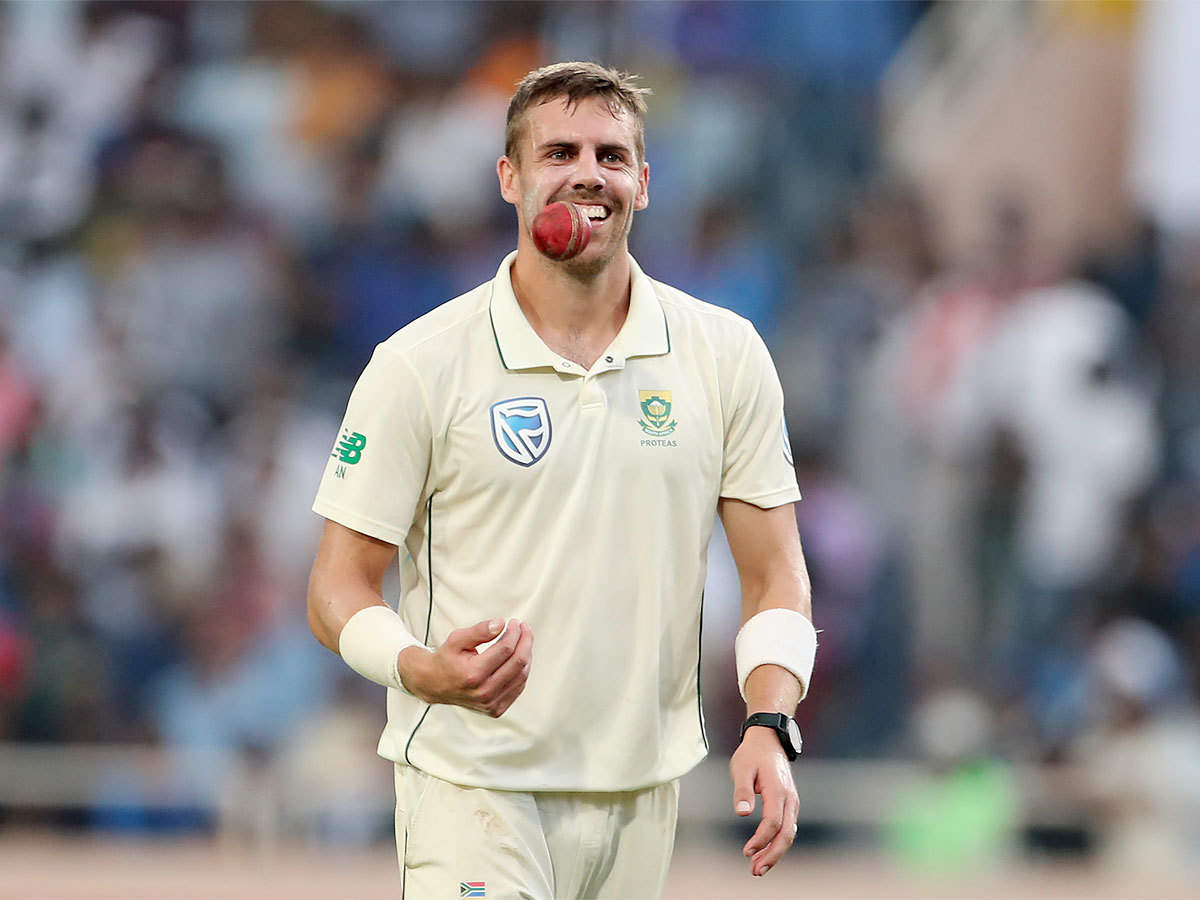 India vs South Africa, 3rd Test: Anrich Nortje enriched by outing despite  poor day for South Africa   Cricket News - Times of India