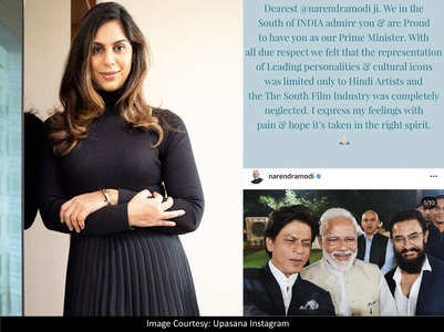 Upasana to PM: Why limit 'icons' to Bollywood