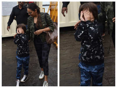 THIS is how AbRam reacted to the paparazzi
