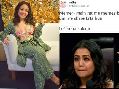 Twitter flooded with memes on Neha Kakkar