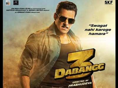 Dabangg 3 trailer to release on October 23?