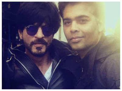 SRK and Karan Johar's social media banter