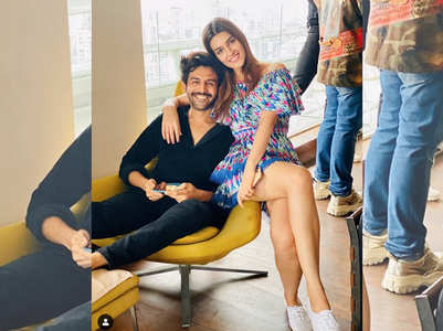 Kartik-Kriti have their 'Luka Chuppi' moment