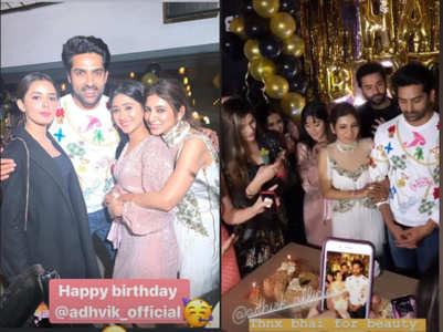 Celebs have a blast at Adhvik Mahajan's b'day