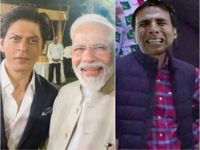 Akki gets trolled as PM poses with SRK-Aamir