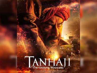 'Tanhaji': Ajay Devgn's first look revealed
