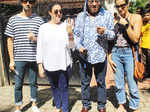 Bollywood celebrities voting pictures