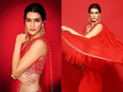 Kriti Sanon looks like a newlywed bride