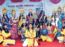 A colourful show to commemorate Navratri