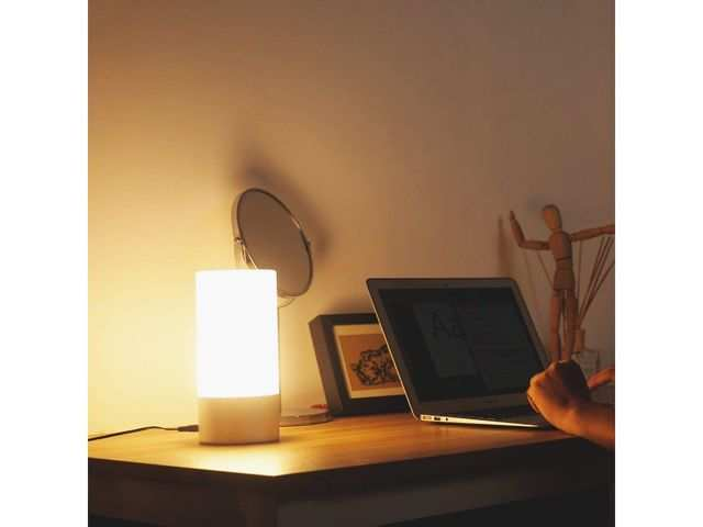 Aukey table lamp with touch sensor available at 52% off on Amazon