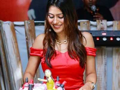 Aparna celebrates birthday in Sri Lanka