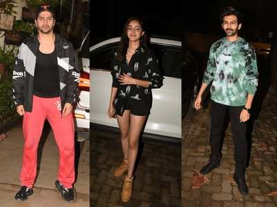 Pics: Celebs attend 'Saand Ki Aankh' screening