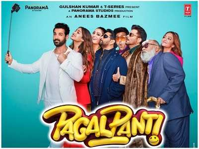 Pagalpanti: Ileana shares quirky new posters