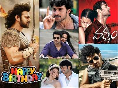 Happy Birthday Prabhas: Besides Baahubali & Saaho, these 5 films made the humble man the Rebel Star of Tollywood