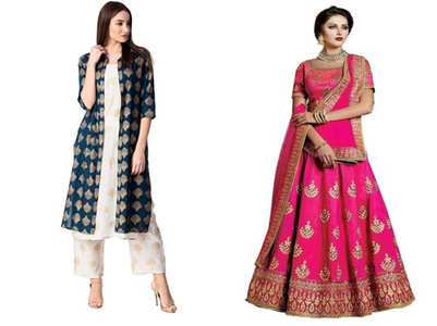 From salwar kameez to lehenga choli: 5 gorgeous ethnic looks for Diwali 2019