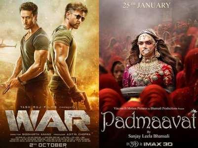 'War' is now the eighth highest grosser film